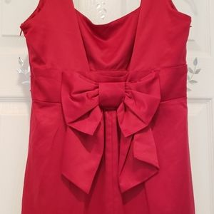 JOHNNY MARTIN Red Little Dress, Size 5